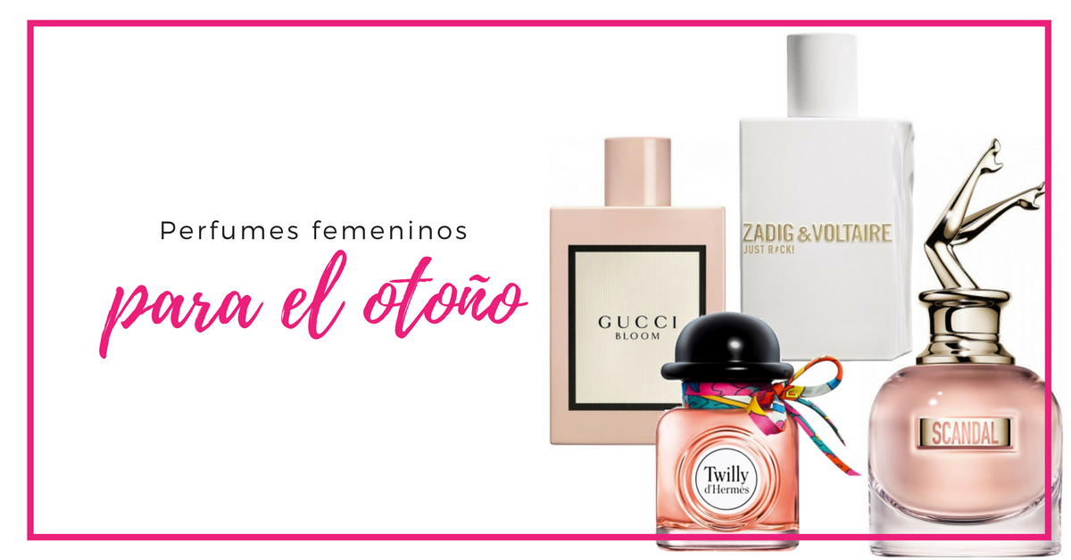 perfumes de otoño