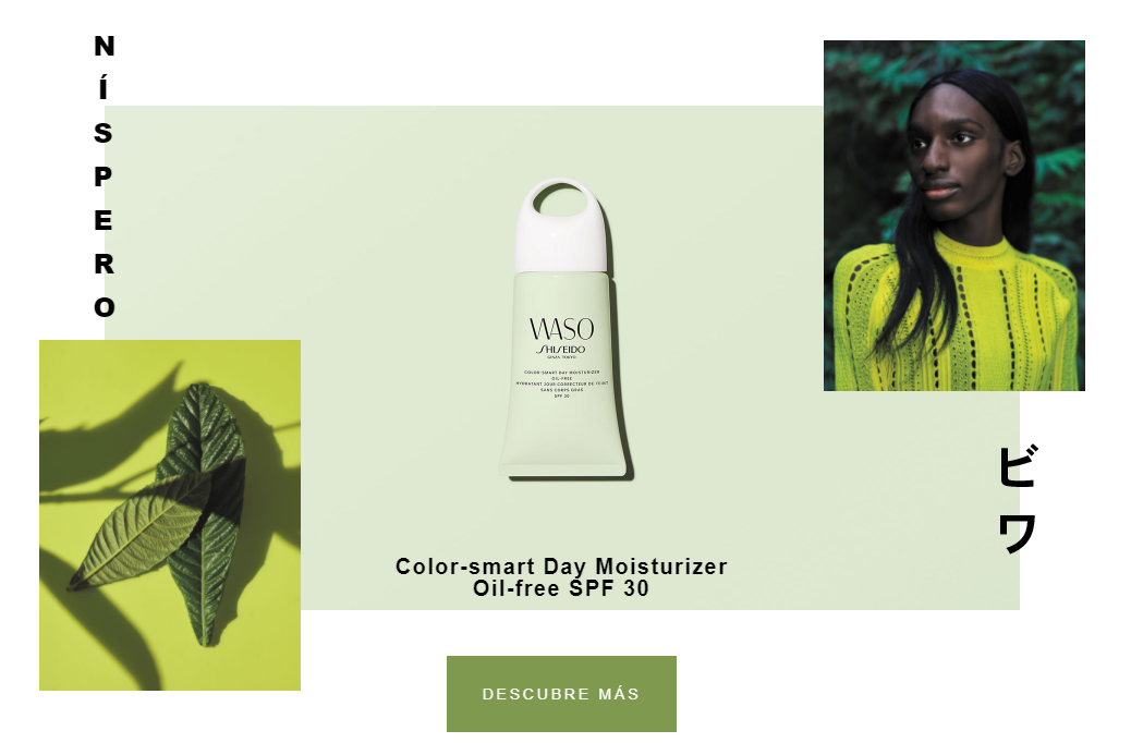 Color-Smart Moisturizer Oil-Free SPF30 waso