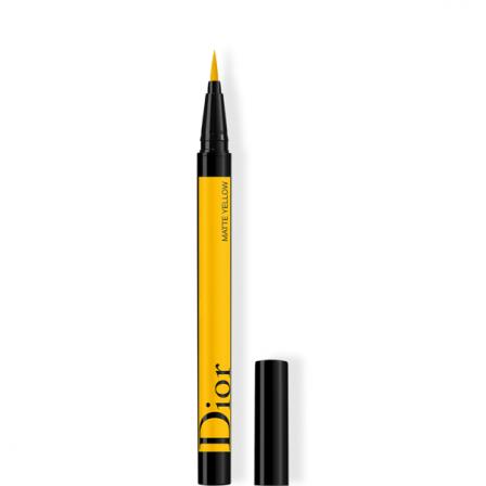 rotulador amarillo para pintar linea ojo