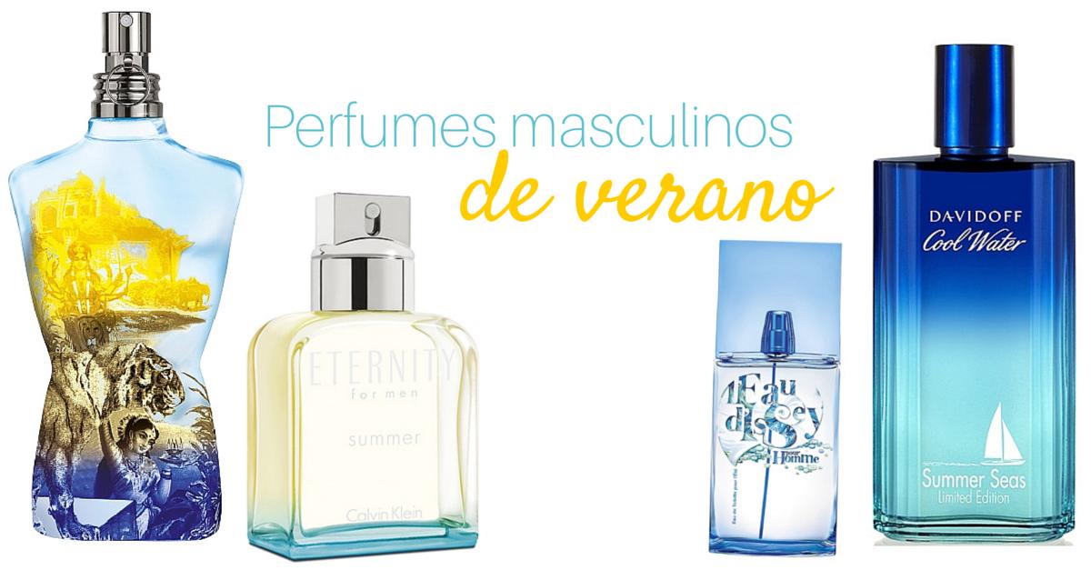 perfumes de hombre de verano