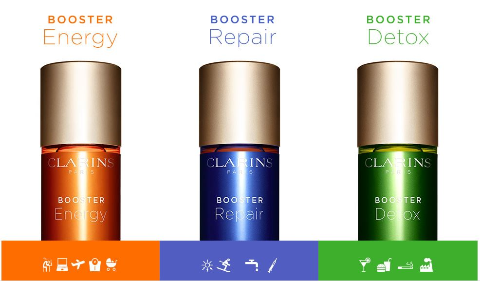 clarins boosters explained