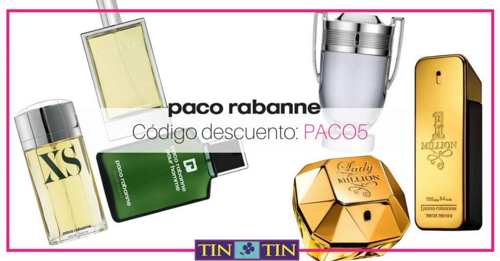 paco rabanne perfumes descuento