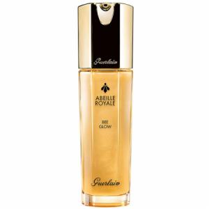 Bote con crema iluminadora en color dorado de Guerlain