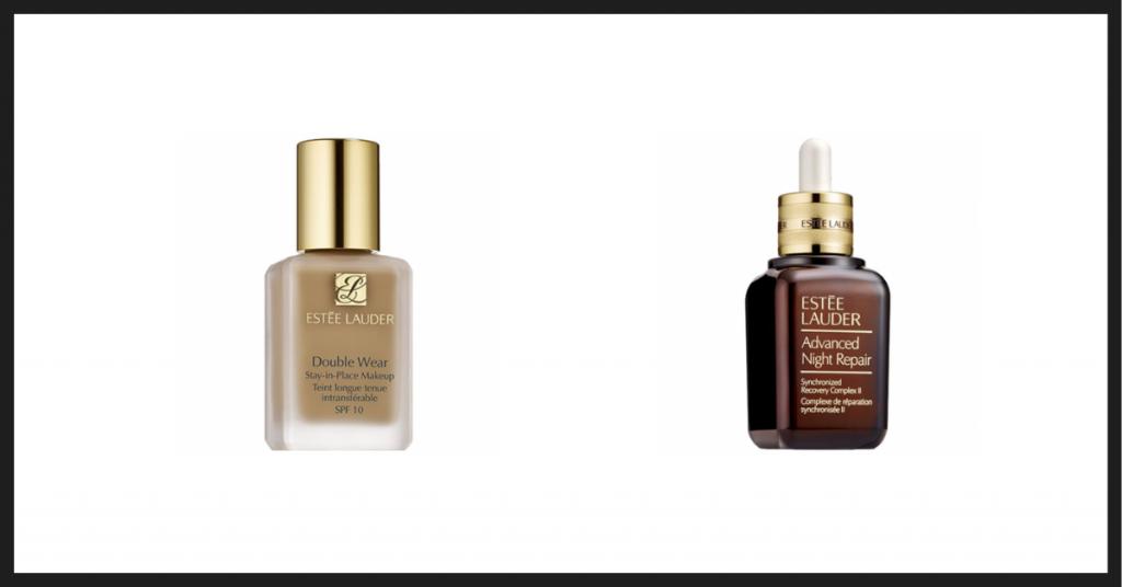 Base de maquillaje y sérum de noche, cosméticos emblemáticos de Estée Lauder, una leyenda de la comsética