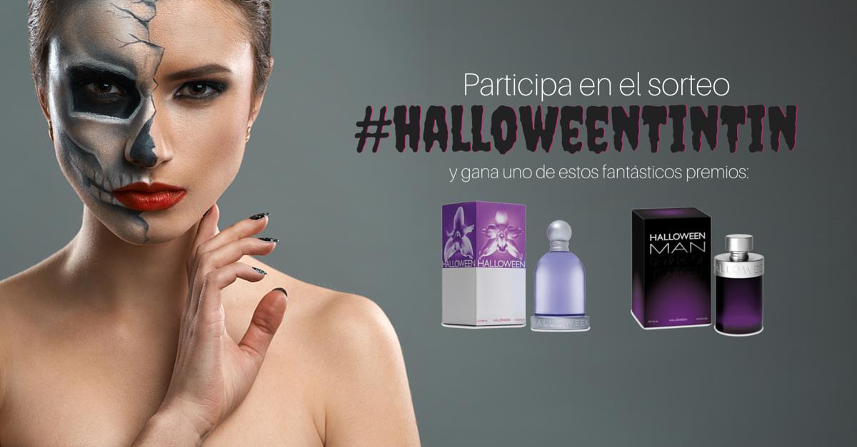 Concurso Halloween perfumes online tintin