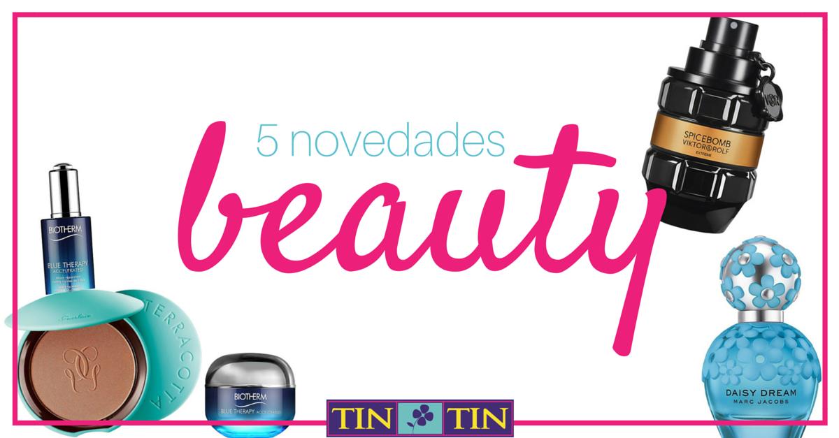 novedades perfumería y cosmética