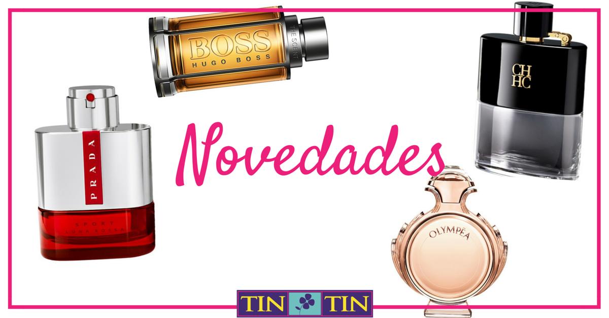 novedades perfumes otoño 2015-2016